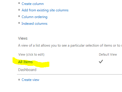 Create a button to Export SharePoint List View to Excel